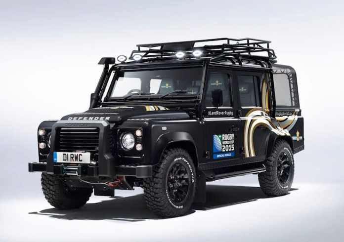 Rugby World Cup Land Rover Defender