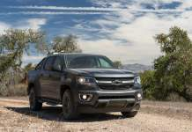 2016 chevy colorado trail boss