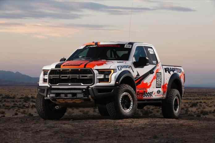 2017 Ford Raptor race truck