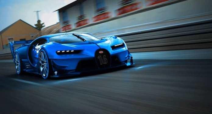 bugatti chiron rolling shot