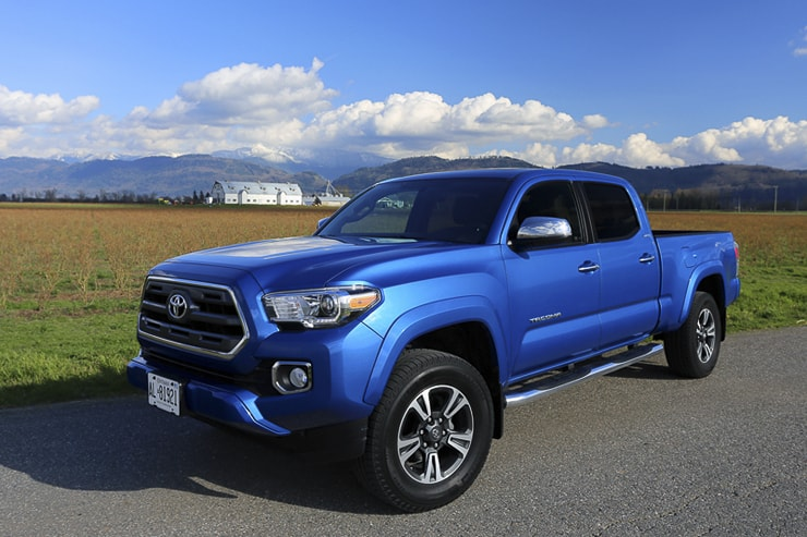2016 toyota tacoma 4×4 double cab review (3 of 11)