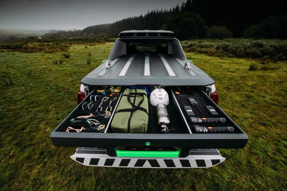Nissan Navara EnGuard Concept Rescue Truck rear