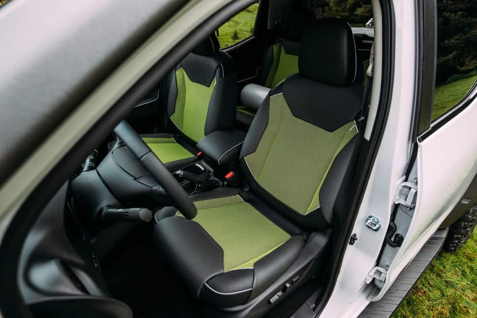 Nissan Navara EnGuard Concept Rescue Truck seats