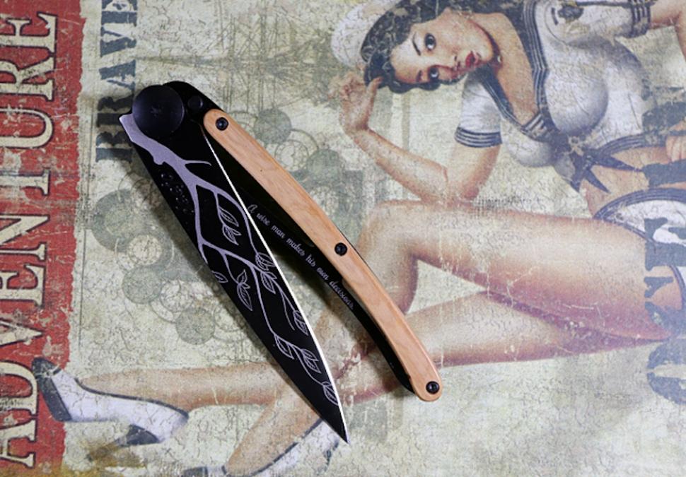 deejo 37g folding knife review1