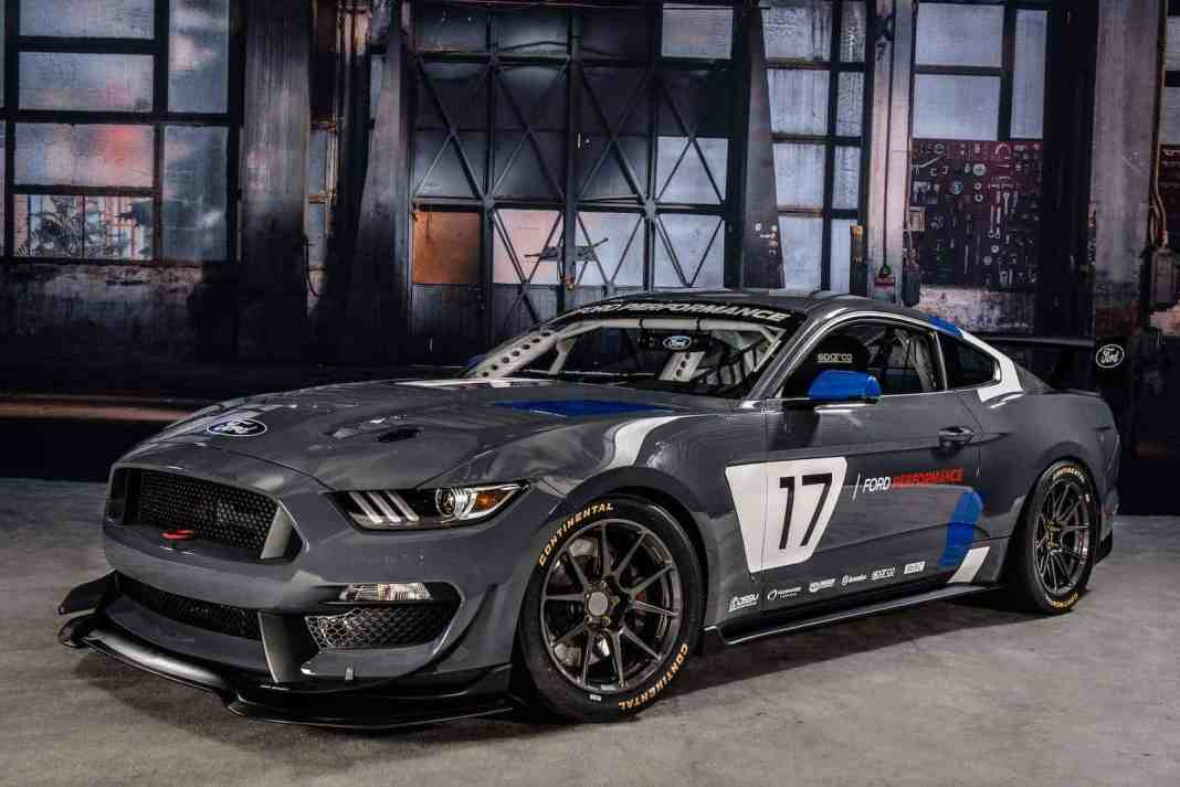 Global Mustang GT4 Race Car Debut at 2016 SEMA Show in Las Vegas