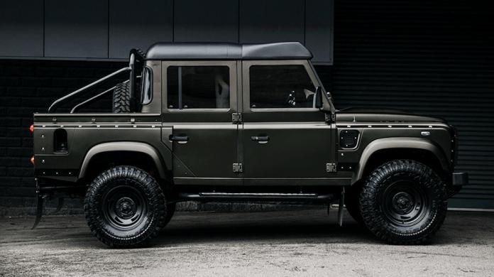 Land Rover Defender 110 Pickup Project Kahn front