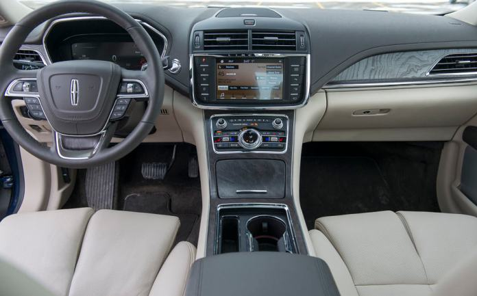 2017 lincoln continental review interior