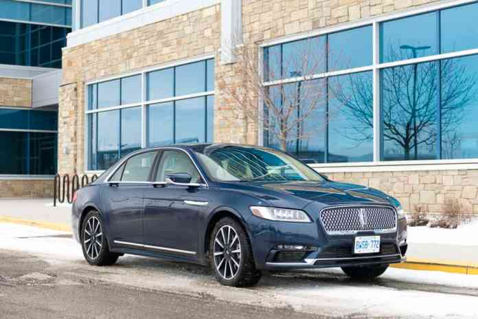 2017 Lincoln Continental Review