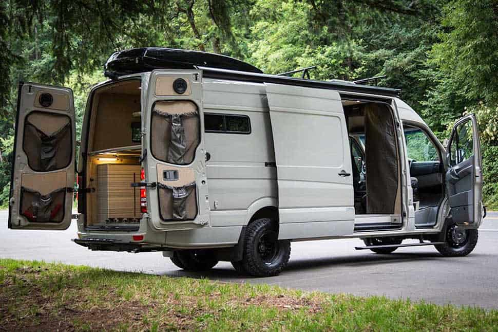 valhalla 4x4 camper not your typical sprinter van. Black Bedroom Furniture Sets. Home Design Ideas