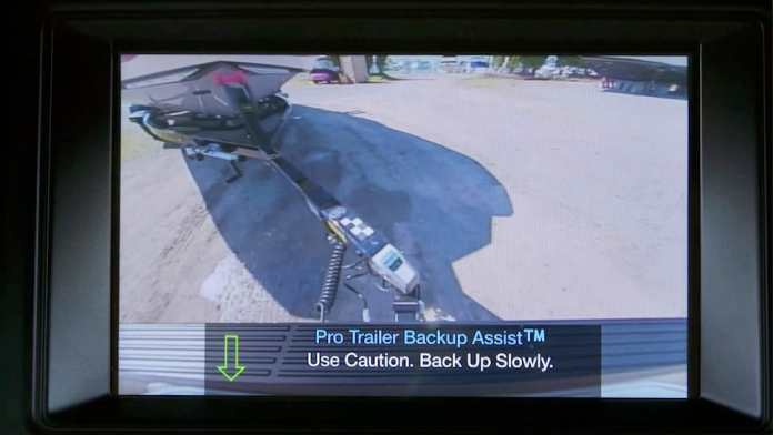 2018 ford expedition pro trailer camera