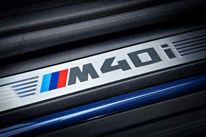 2018 BMW X3 m40i badge