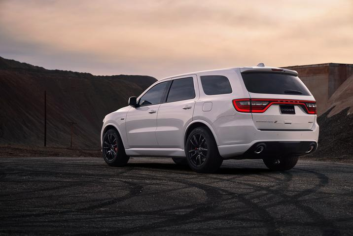 2018 Dodge Durango SRT rear