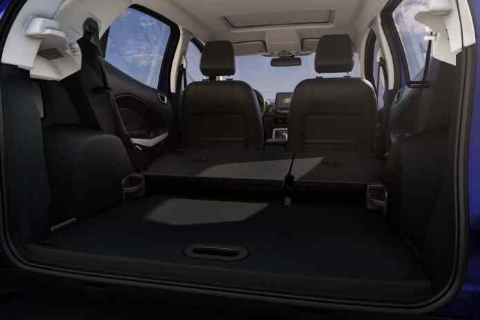 2018 Ford EcoSport Review rear cargo