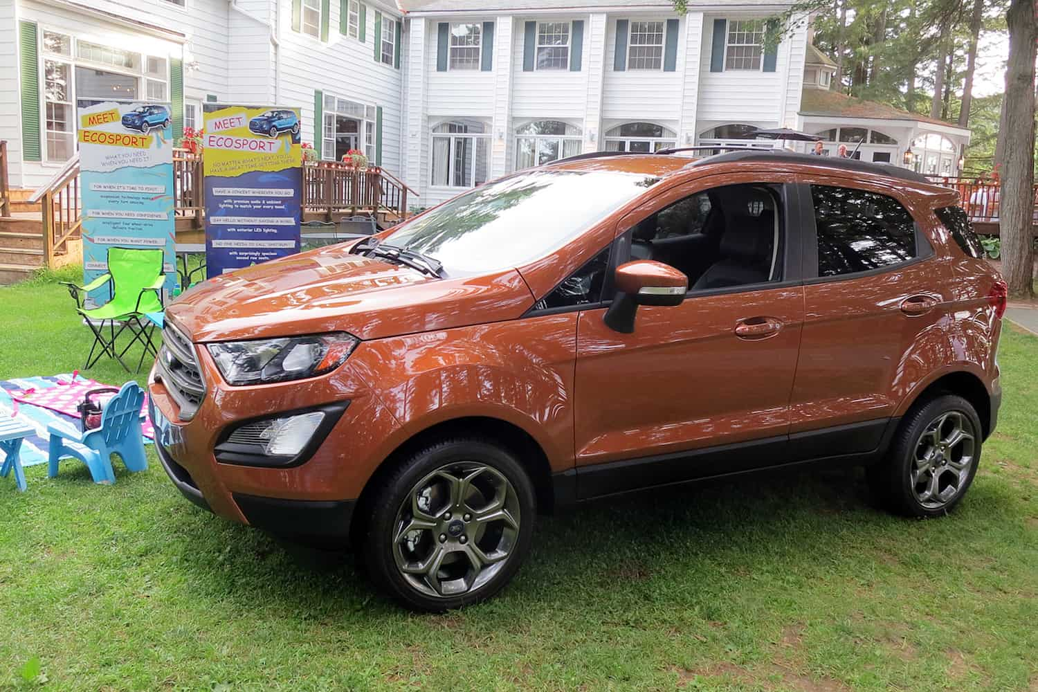 First Look Fords All New 2018 EcoSport Compact SUV