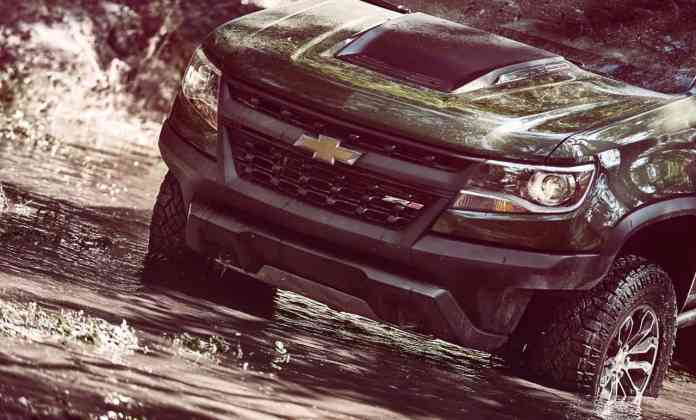 2017 chevrolet colorado zr2 front grill