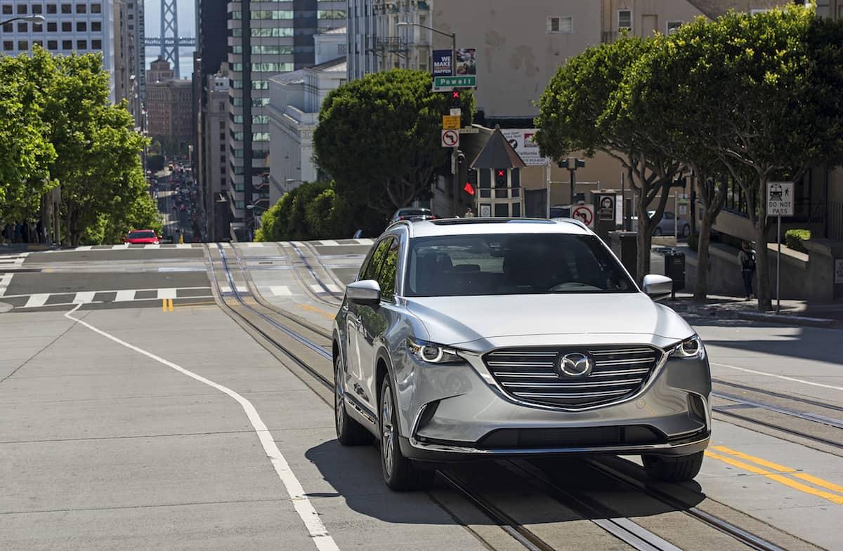 Mazda mazda cx 9 front grill : 2017 Mazda CX-9 Review: Big Style, Little Power