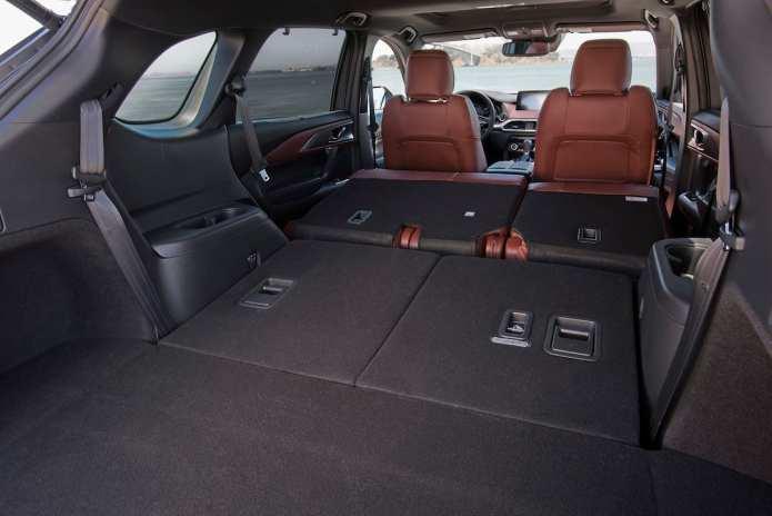 2017 Mazda CX-9 review rear cargo seats down