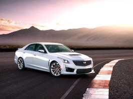 2018 Cadillac CTS-V Glacier Metallic Edition