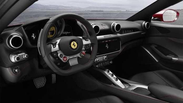 2018 Ferrari Portofino cockpit