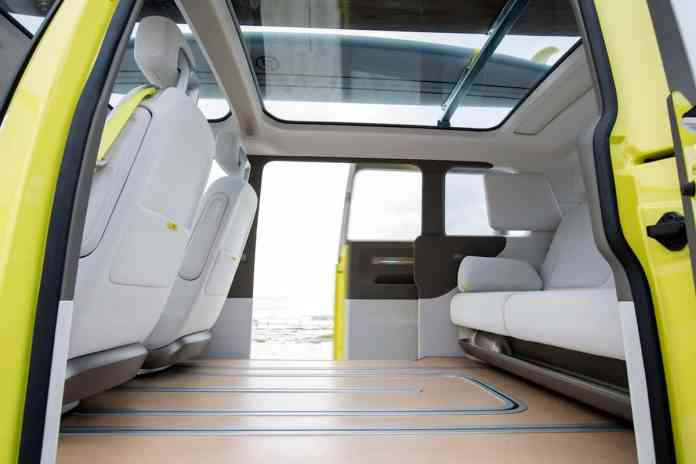 volkswagen I.D. BUZZ electric concept floor