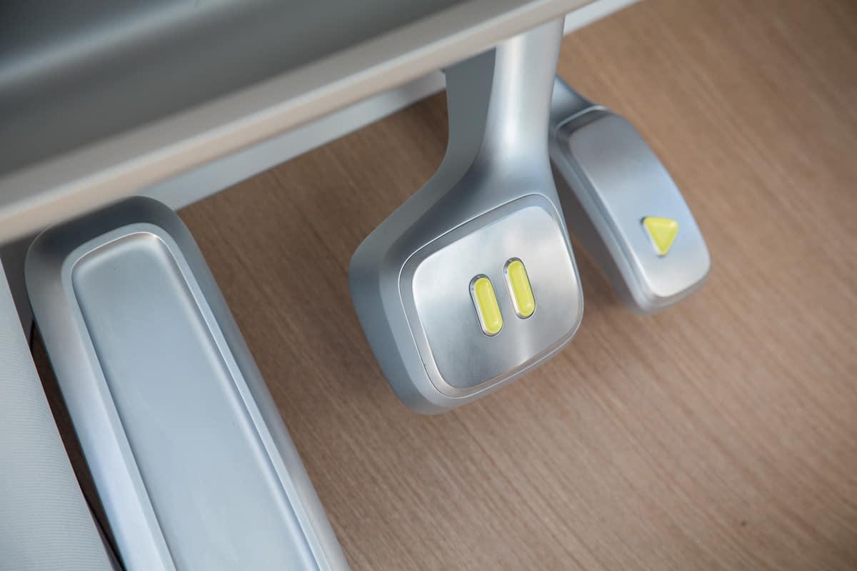 volkswagen I.D. BUZZ electric concept pedals