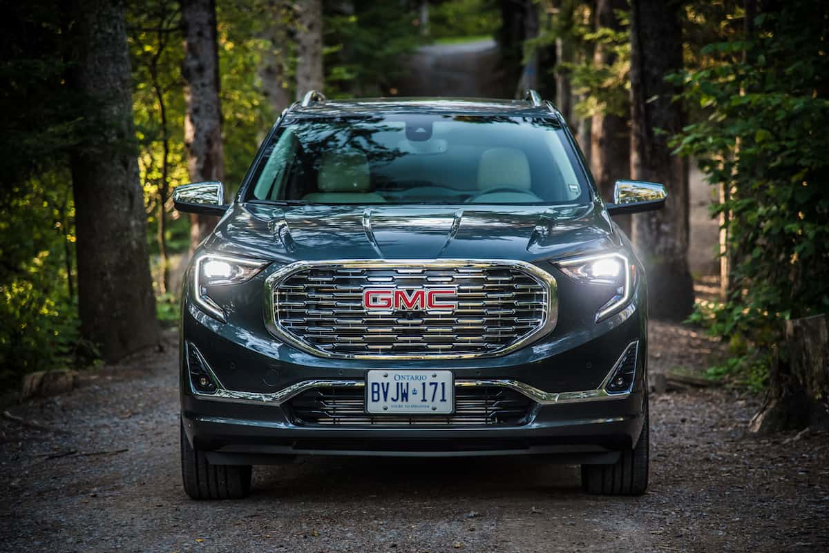 2018 GMC Terrain front grill