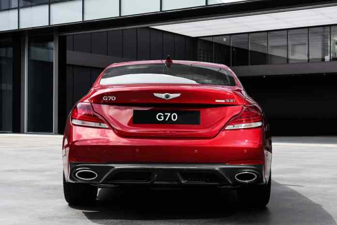 2018 genesis g70 sedan