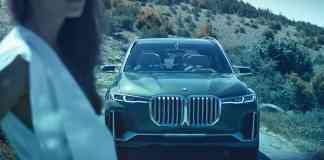 BMW X7 iPerformance concept grill