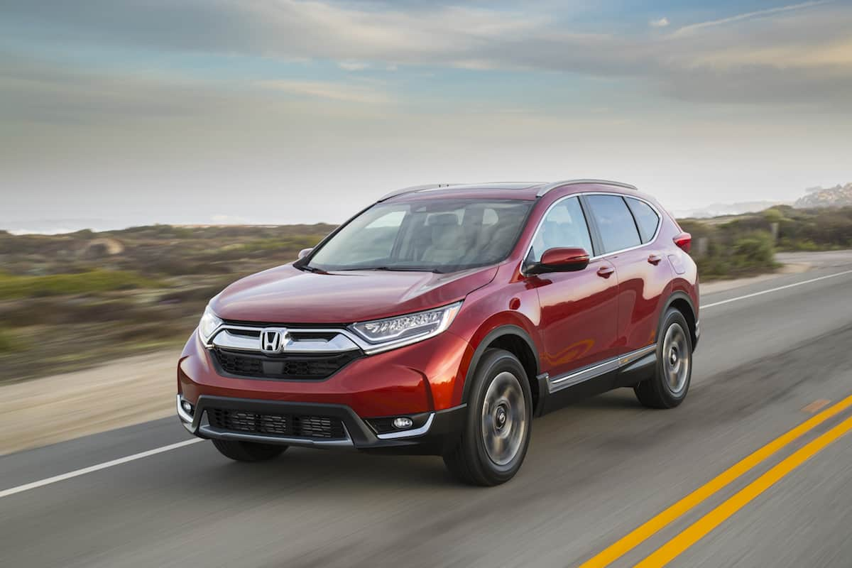 2017 Honda CR-V touring review