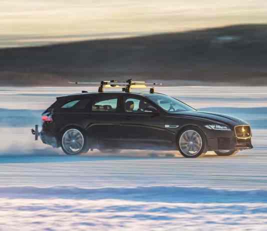 2018 Jaguar XF Sportbrake world record