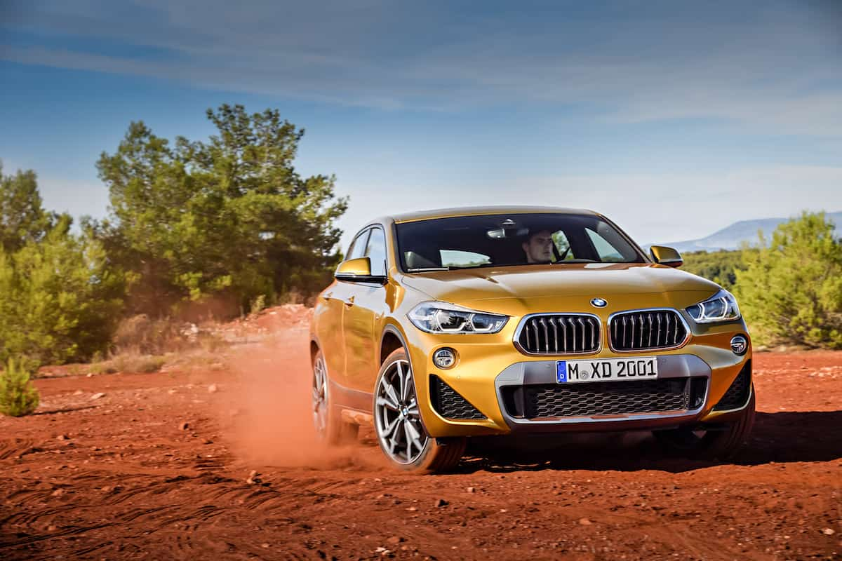 2018 bmw x2 crossover front motion