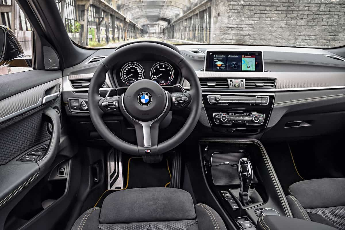 2018 bmw x2 crossover interior front