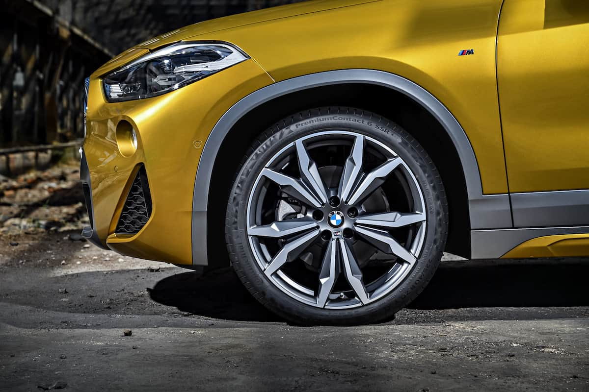 2018 bmw x2 crossover wheel