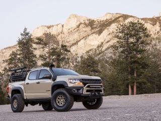 Colorado ZR2 AEV Concept sema 2017 front view