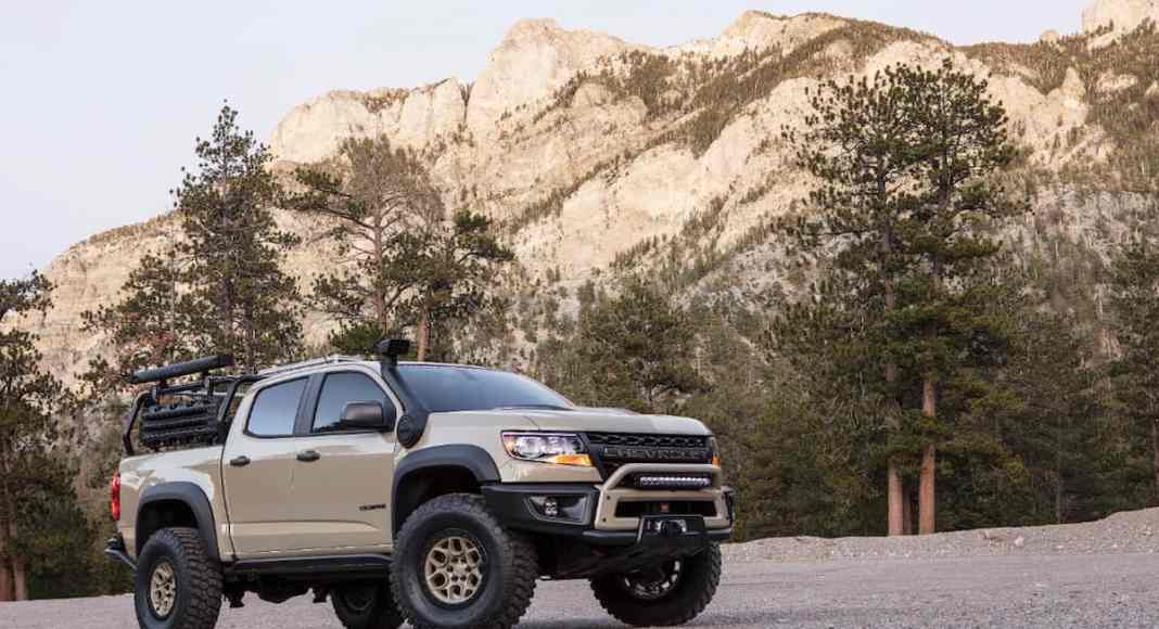 Colorado ZR2 AEV Concept sema 2017