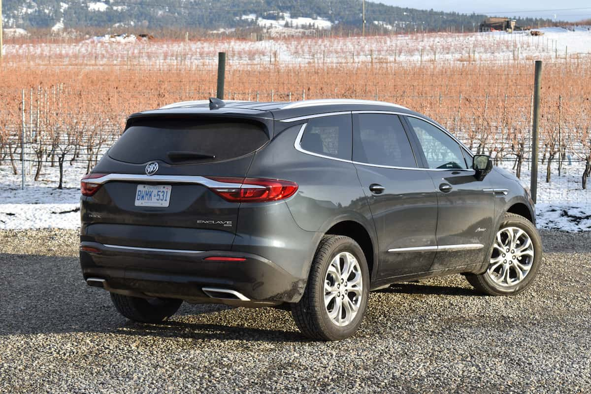 2018 Buick Enclave First Drive Review rear view