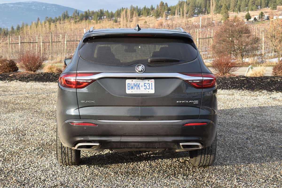 2018 Buick Enclave First Drive Review rear
