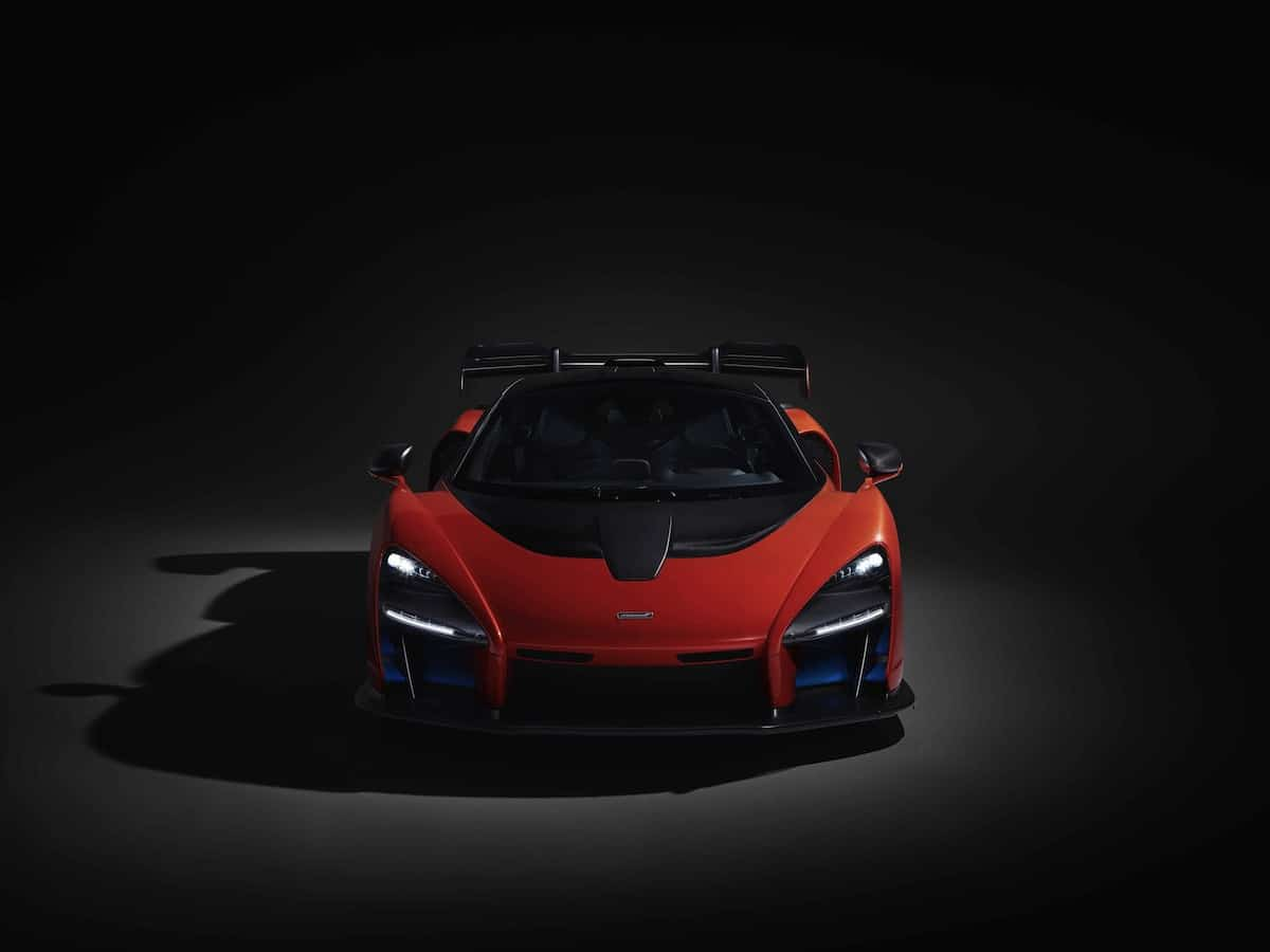 mclaren senna front head on