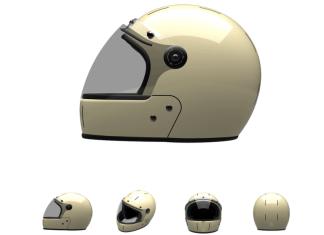 veldt helmet double cream fullface