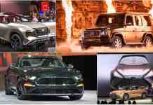 2018 detroit auto show major debut