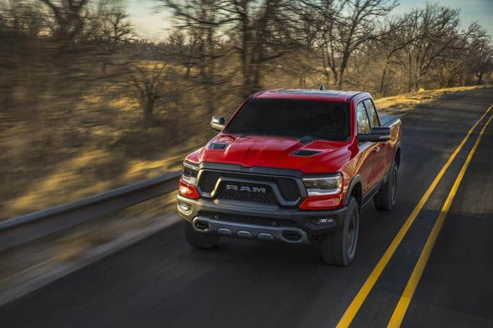 2019 Ram 1500 redesign what you need to know front rolling