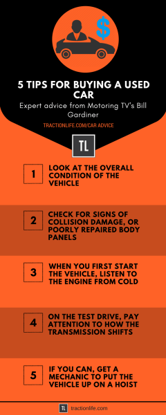 5 tips buying a used car tractionlife