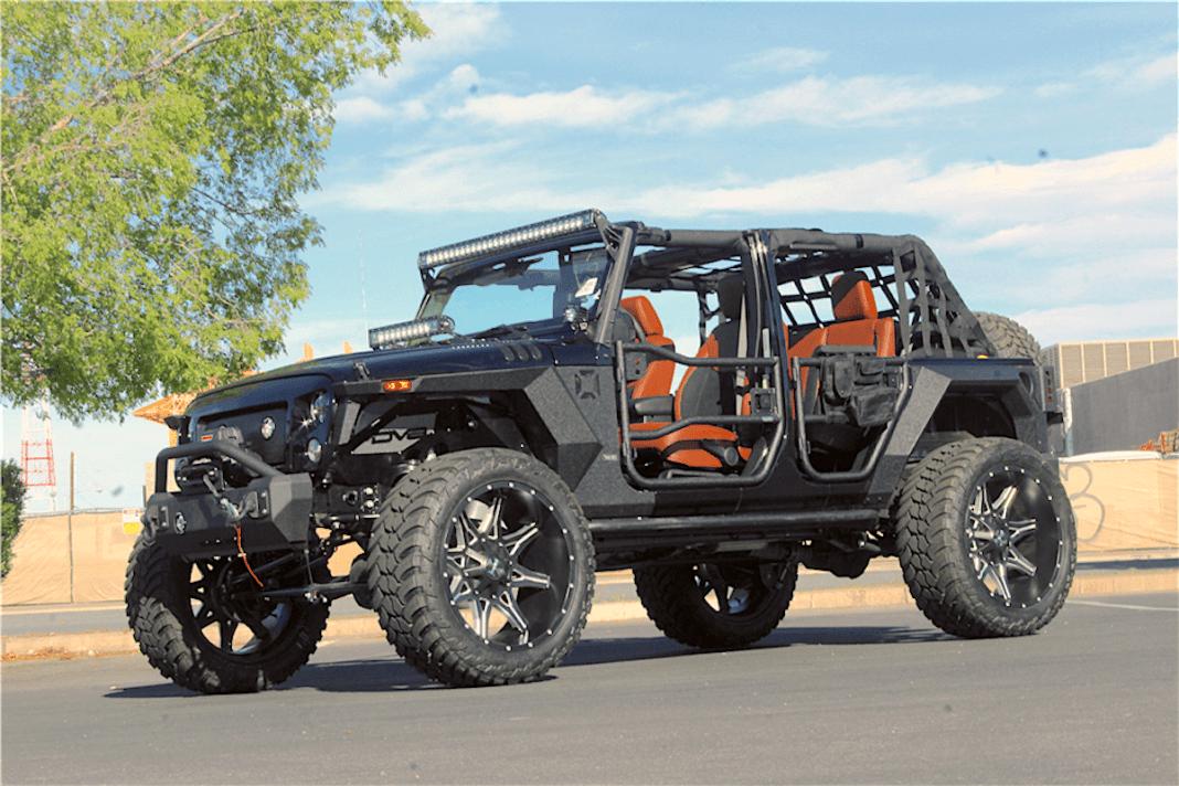 2018 Jeep Wrangler Terminator Custom front view