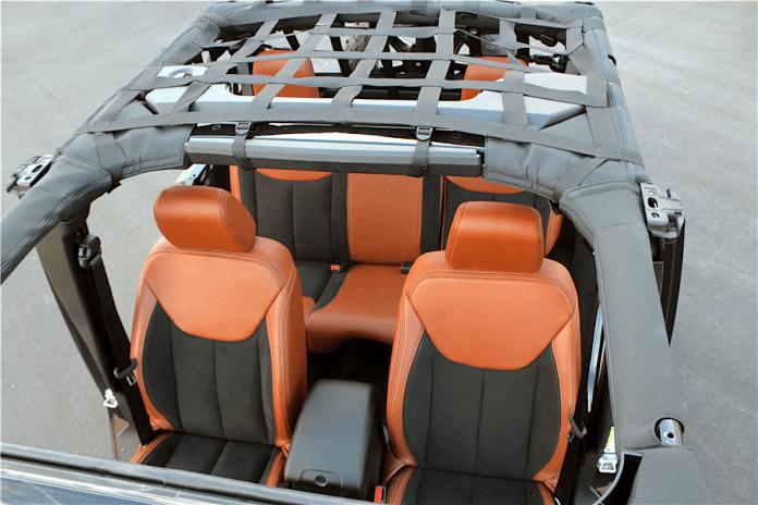 2018 Jeep Wrangler Terminator Custom interior