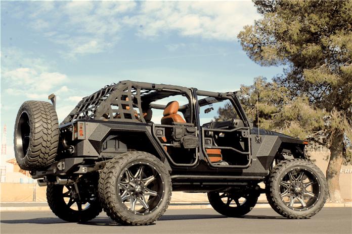2018 Jeep Wrangler Terminator Custom rear view