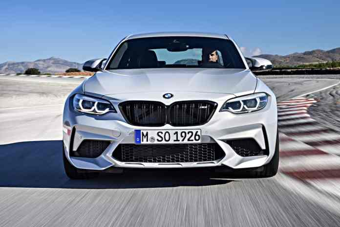 2019 BMW M2 Competition front grill white