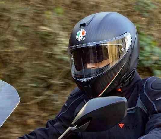 full carbon fiber motorcycle helmet AGV SPORTMODULAR