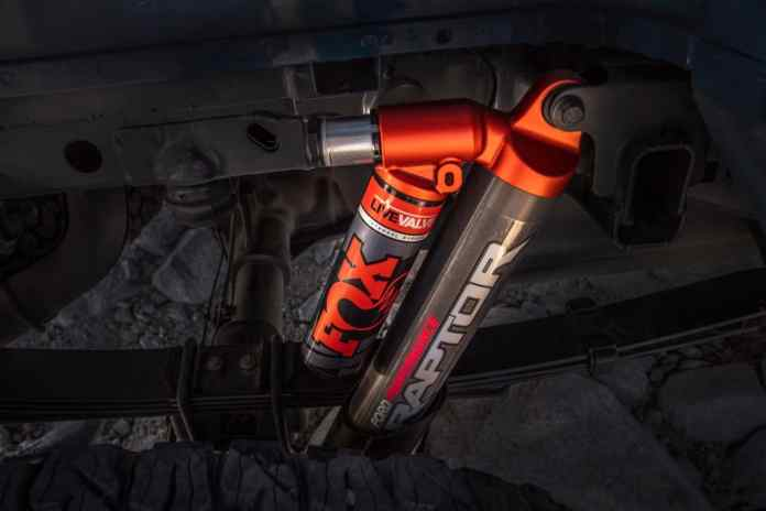 2019 Ford F-150 Raptor FOX shocks