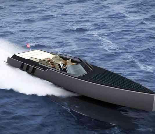Tesla E-Vision GT Boat concept