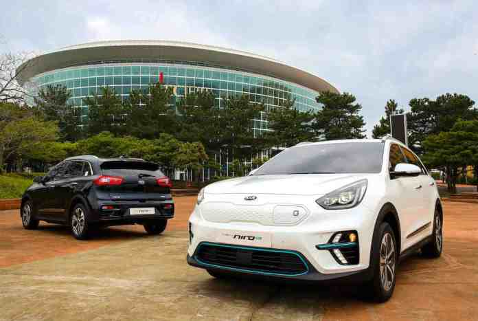 kia niro ev first look